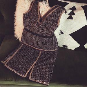 Vintage Prada skirt and bottom set